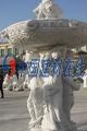 黃繡石歐式水缽噴泉-建材供應產品