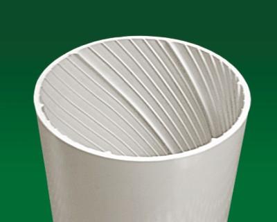 C U双壁中空螺旋消音管价格 UPVC给排水管材管件 浙江神舟管业有